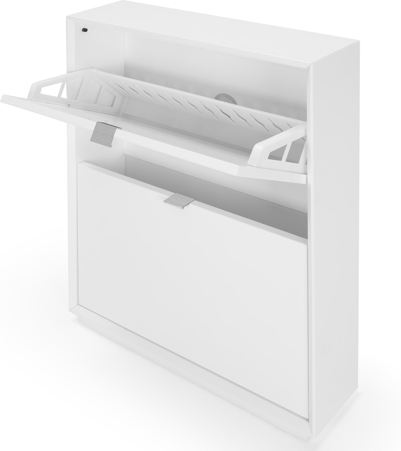 Marcell Small Shoe Storage Cabinet, White