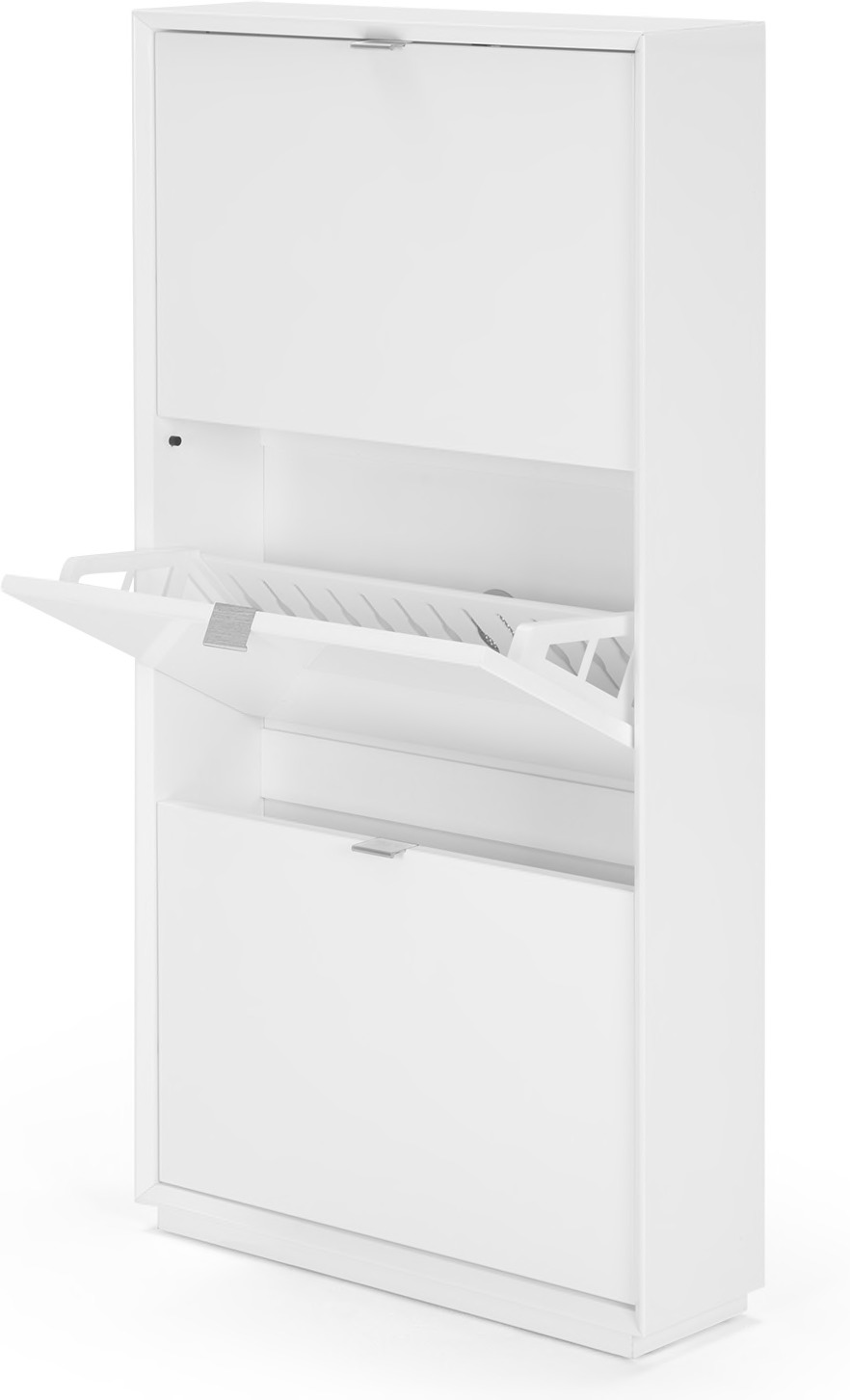 marcell shoe storage cabinet white