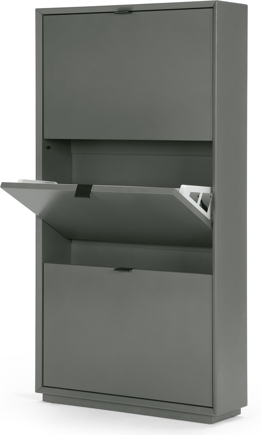 Marcell Shoe Storage Cabinet Grey