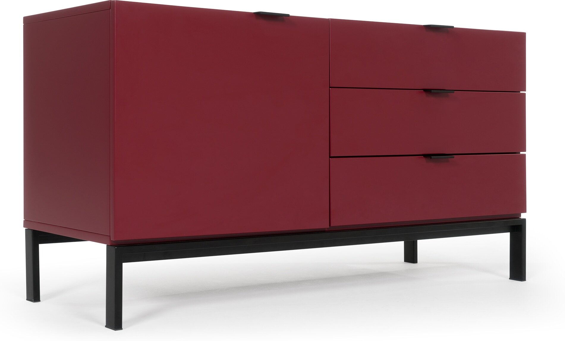 Marcell Compact Sideboard, Marsala Red