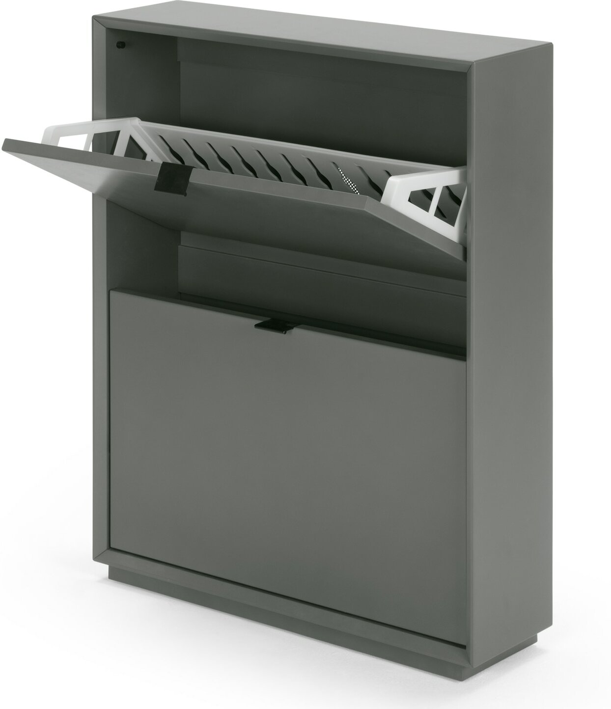 Marcell Small Shoe Storage Cabinet Grey