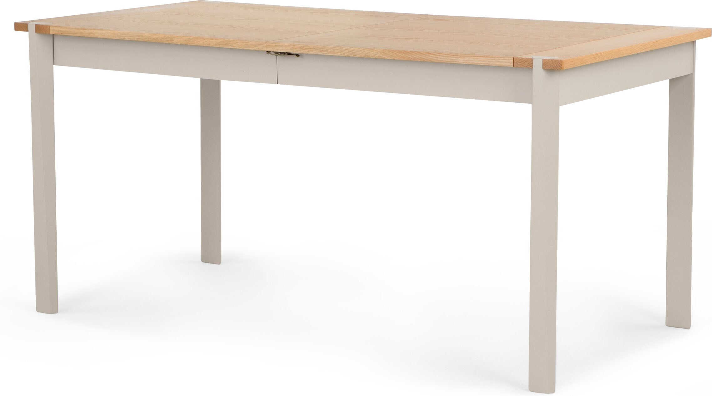 Shepperton Extending Dining Table, Oak and Stone Grey