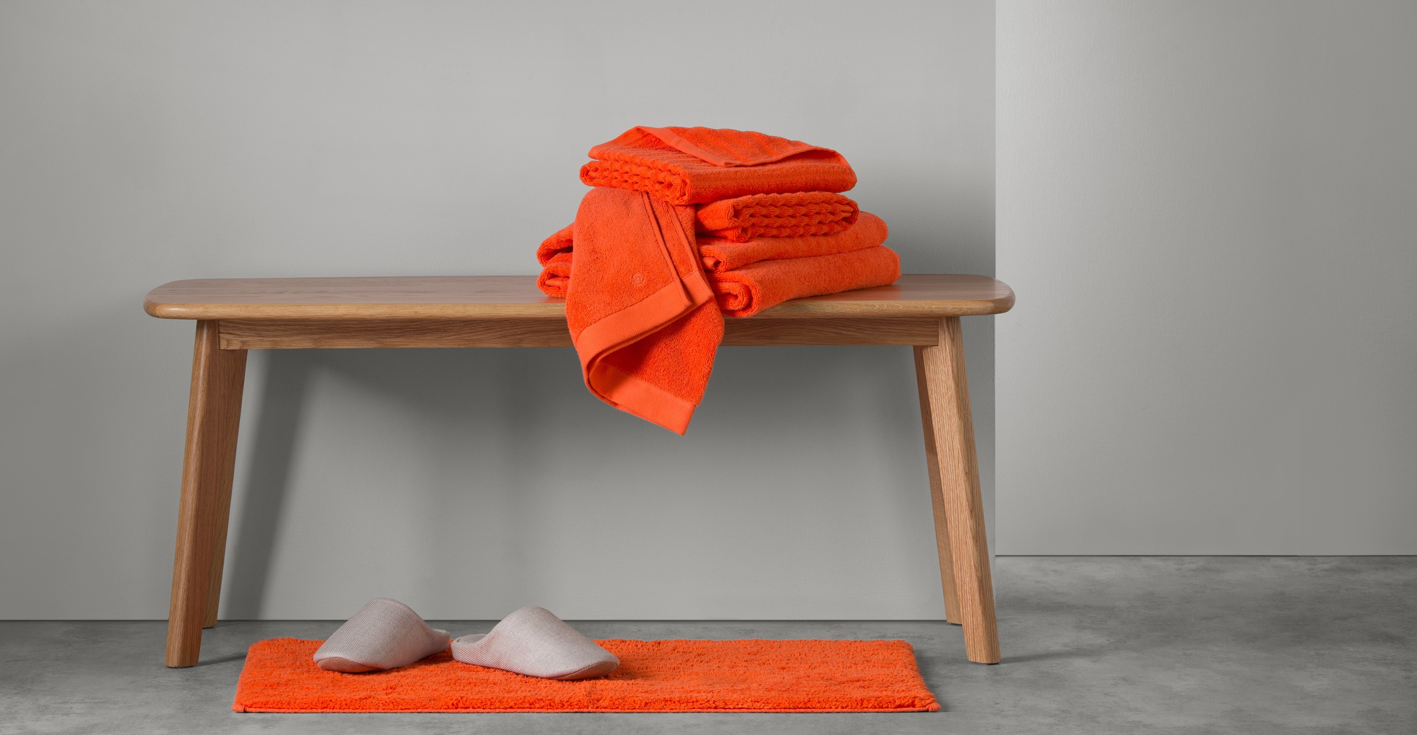 ALTO Set of 4 Towel Bale, Tomato