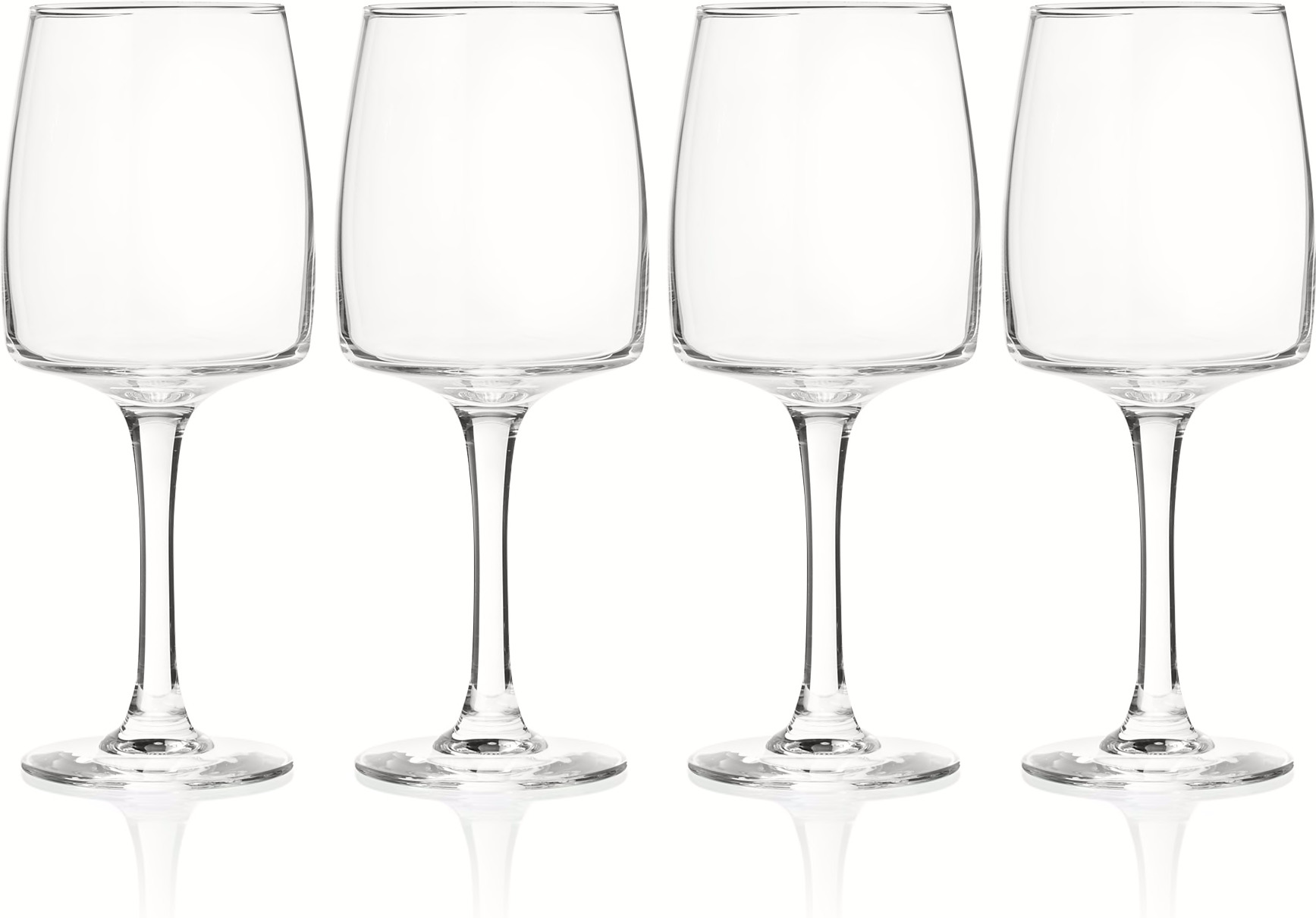 Salem 4 x White Wine Glasses
