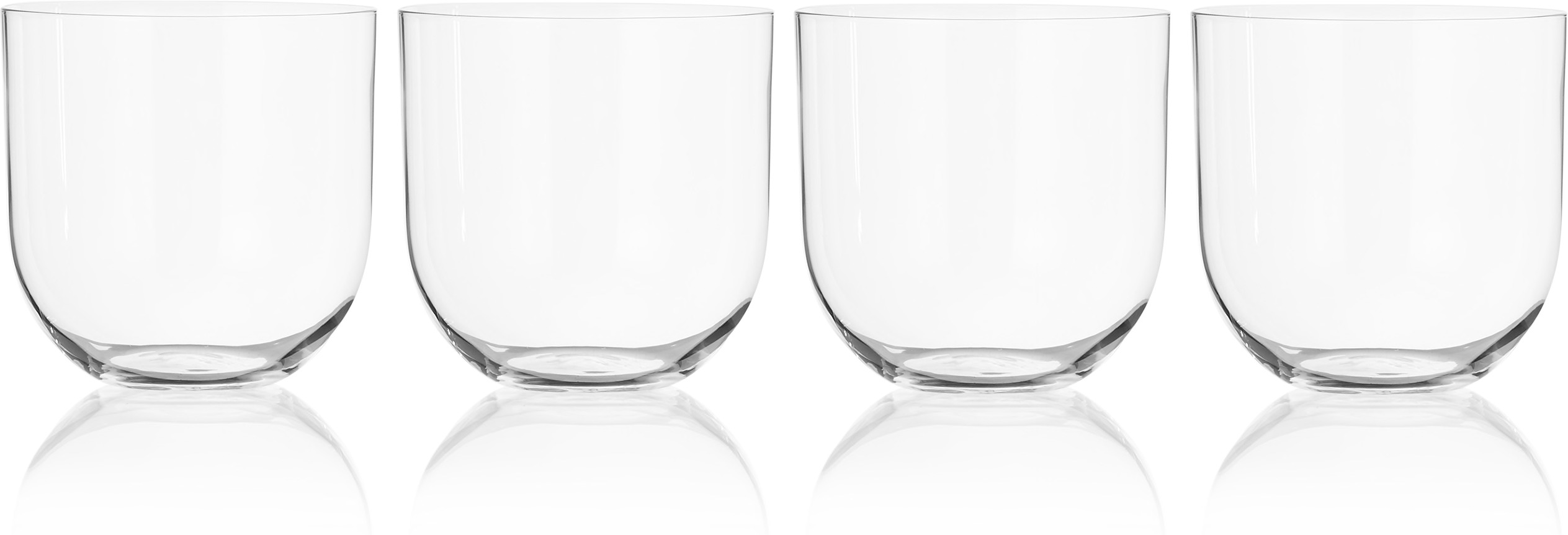 Soligo 4 x Large Water Glasses