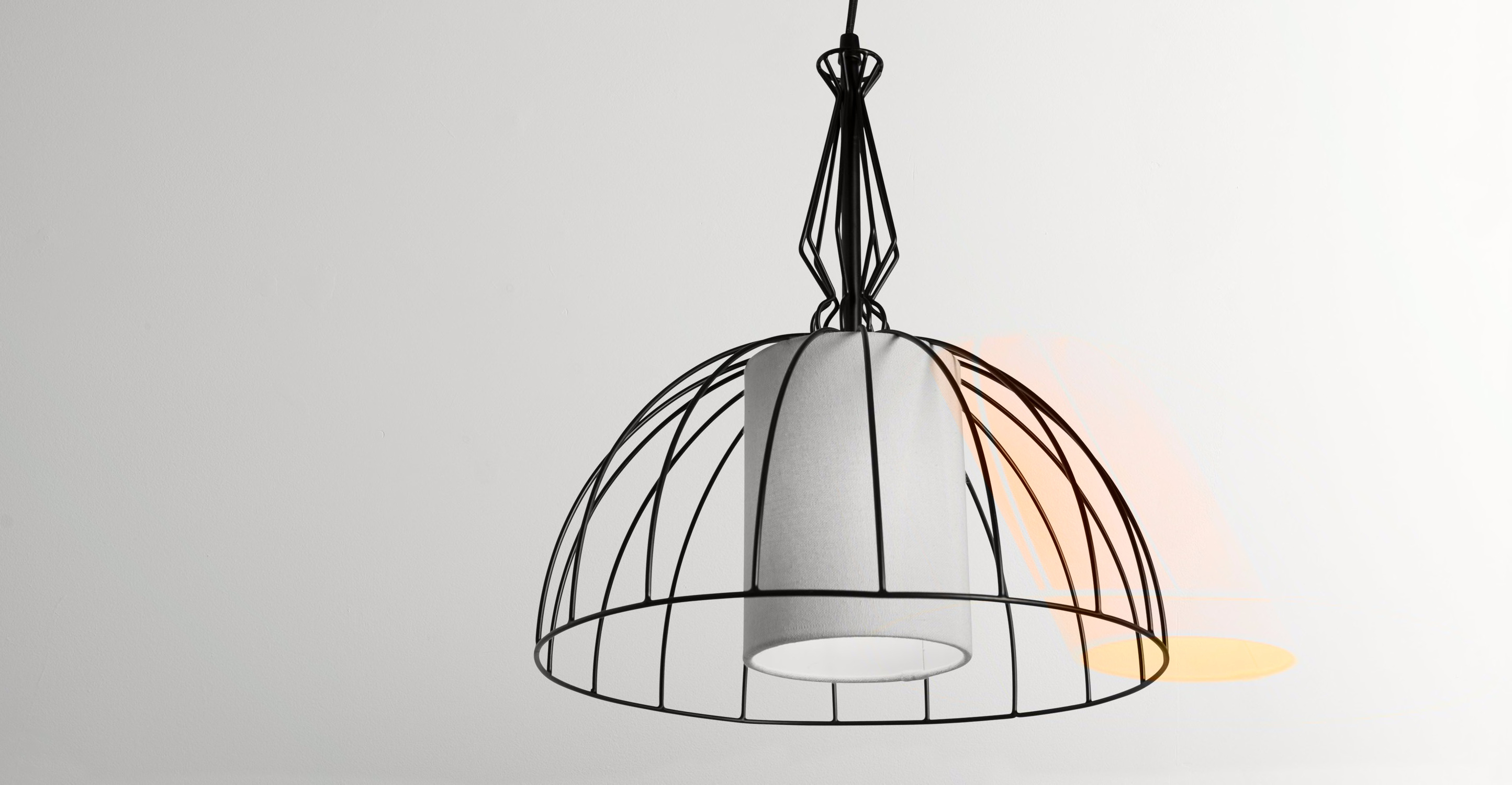 Emeline Pendant Light, Matt Black