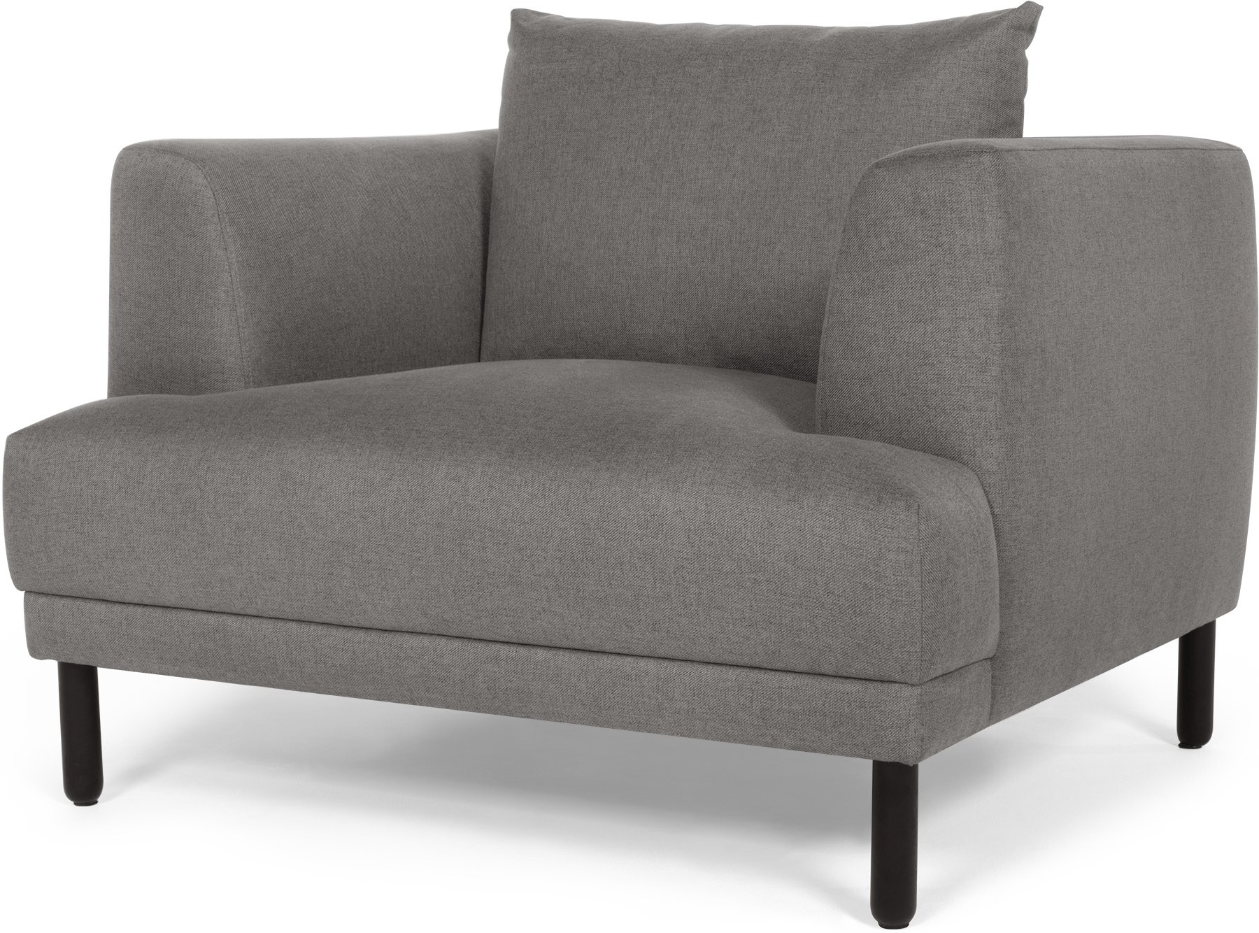 Bowery Armchair, Fossil Grey