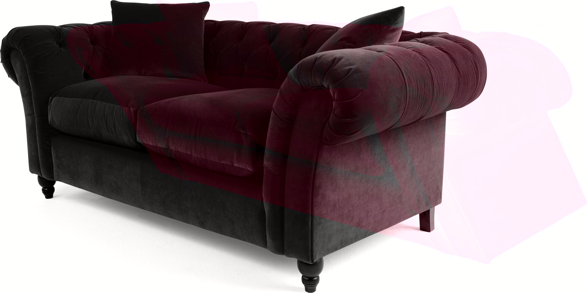 velvet chesterfield sofa shop for cheap sofas and save. Black Bedroom Furniture Sets. Home Design Ideas