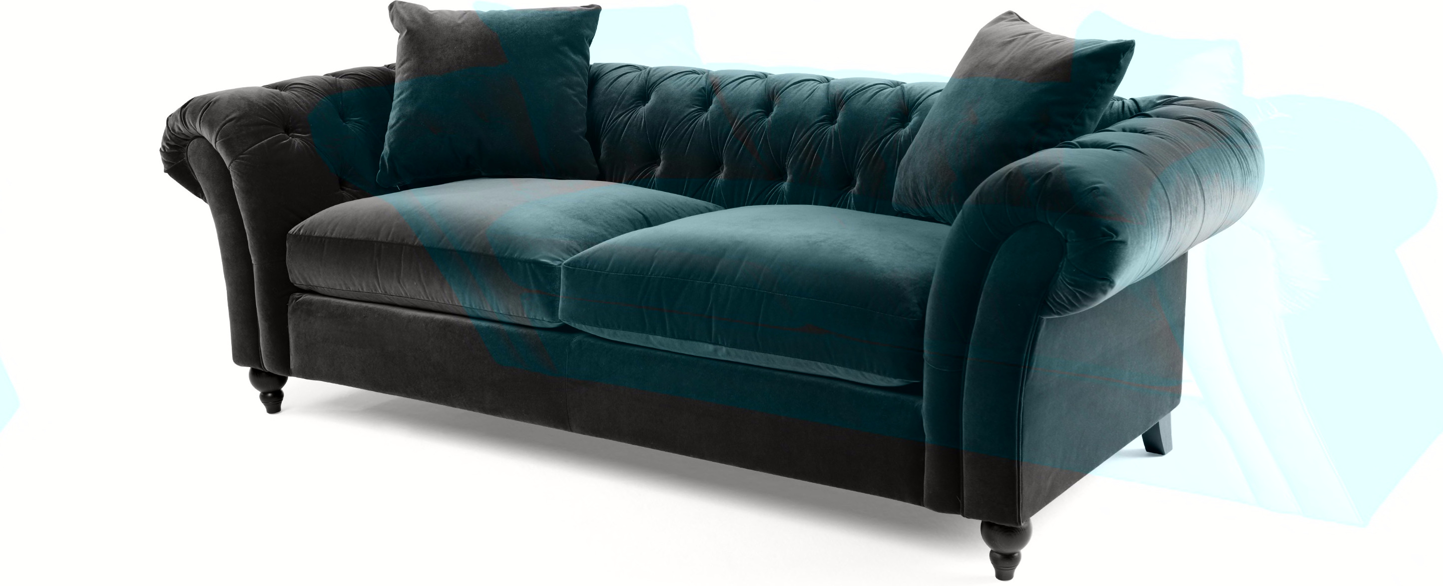 best velvet chesterfield sofa prices in sofas online. Black Bedroom Furniture Sets. Home Design Ideas