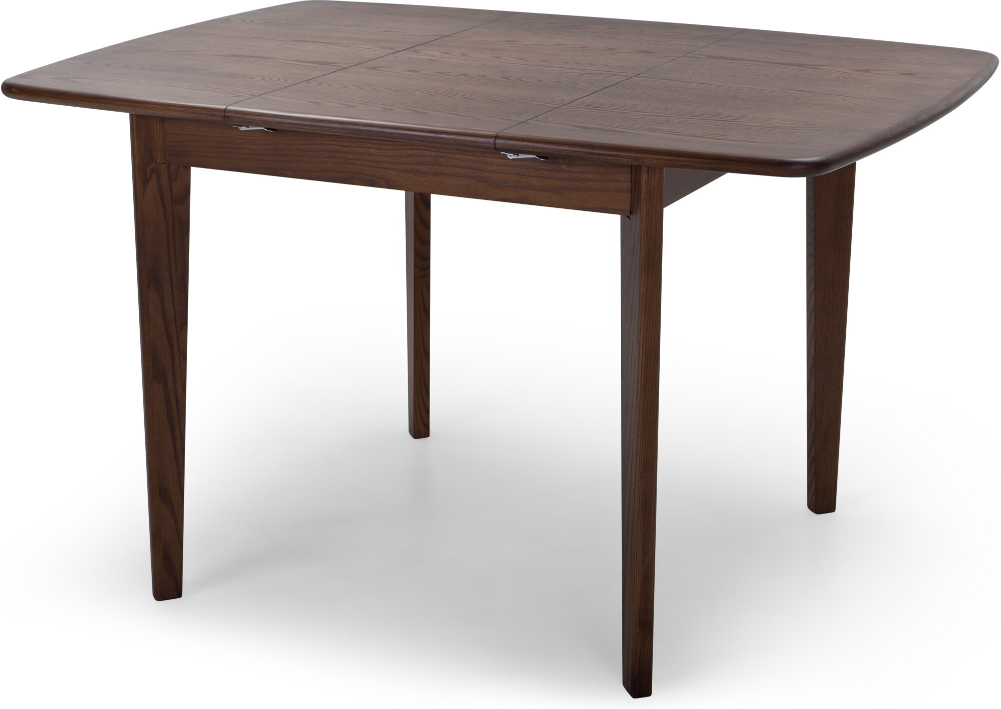 Monty Extending Dining Table Dark Stain Ash