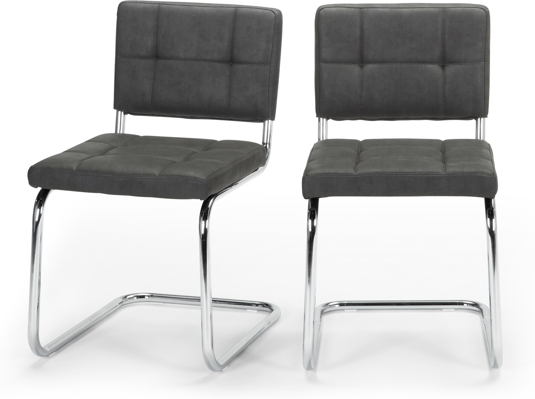 Image of 2 x Aston Dining Chairs, Raven Black