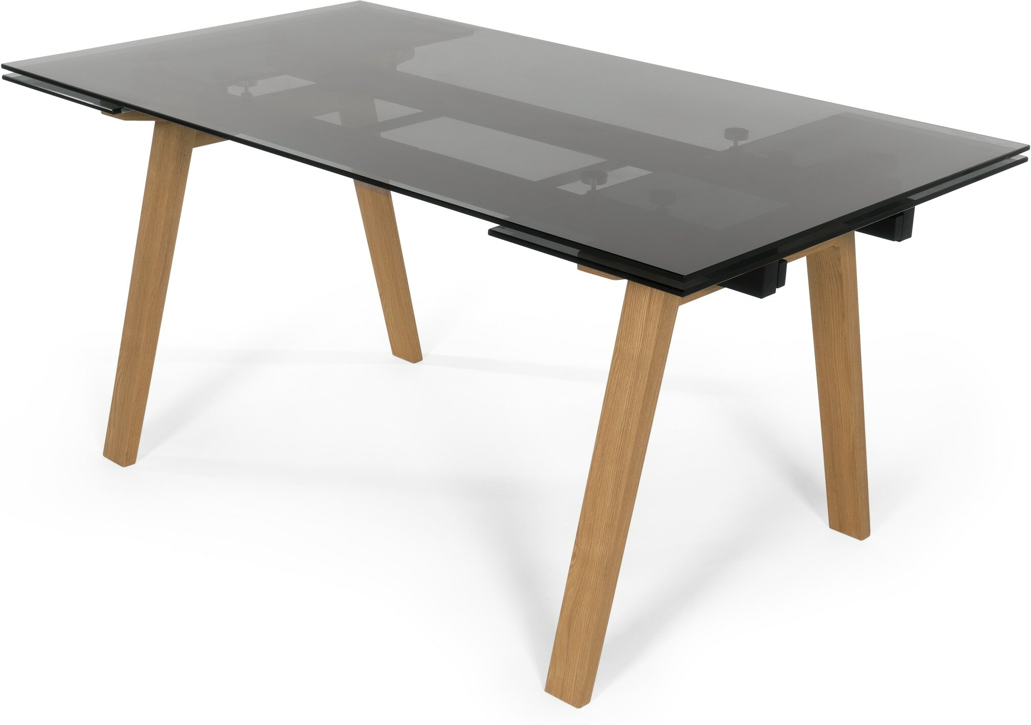 Buy cheap extending glass dining table compare tables for Dining table deals