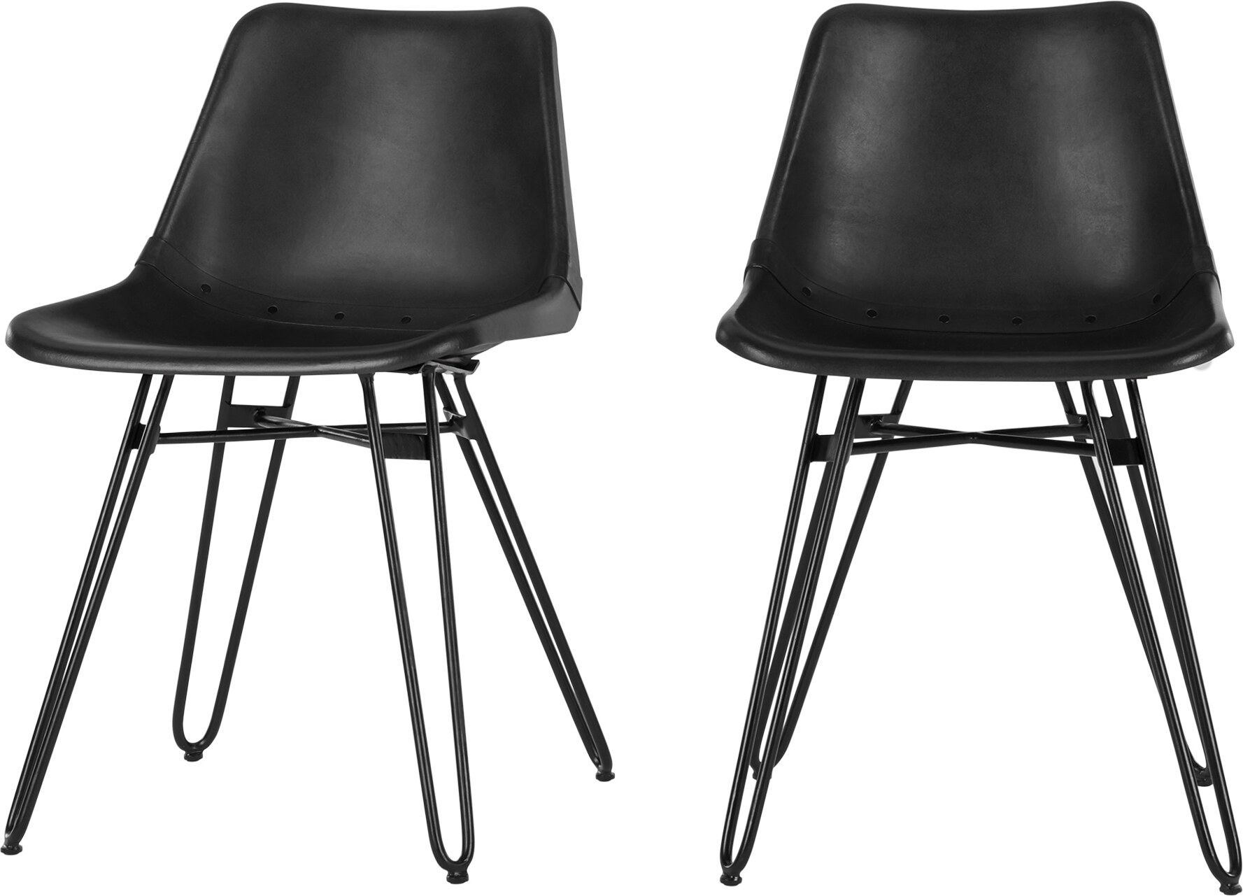 Image of 2 x Kendal Dining Chair, Black