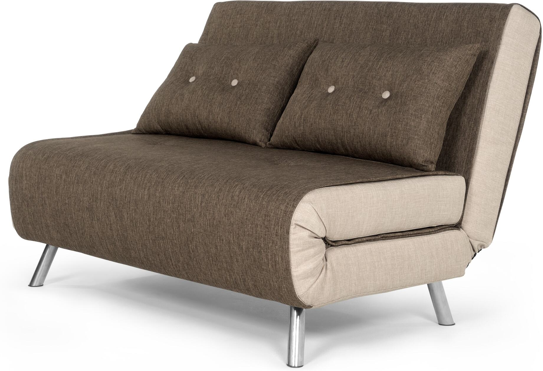 Haru Small Sofa Bed Woodland Brown