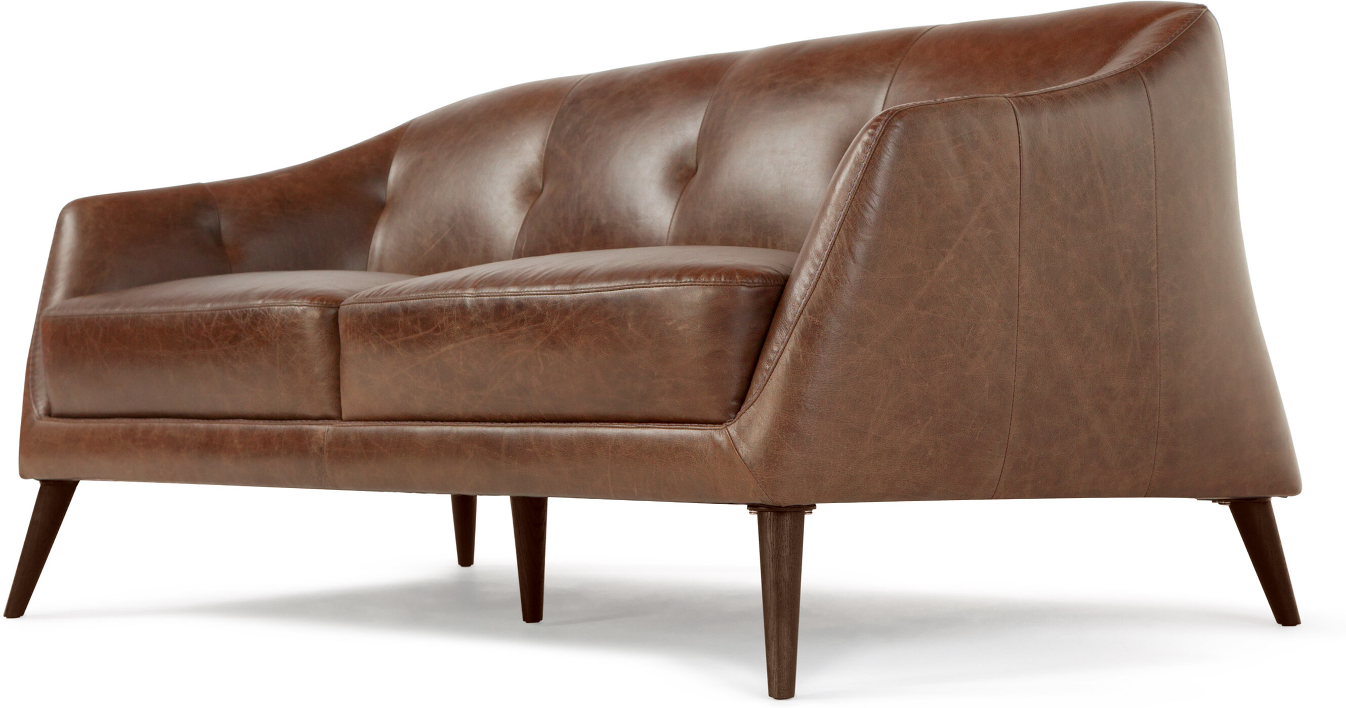 Nevada 2 Seater Sofa Antique Cognac Leather