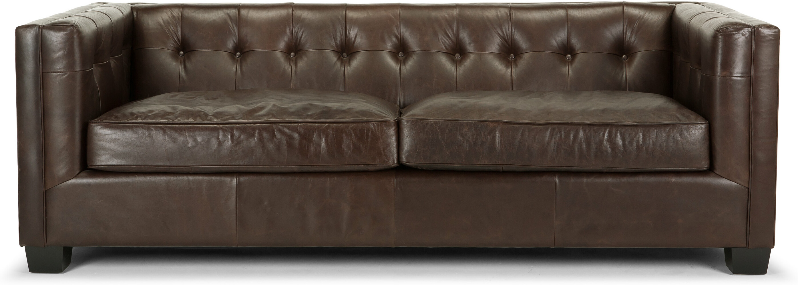 Edward 3 Seater Sofa, Vintage Brown