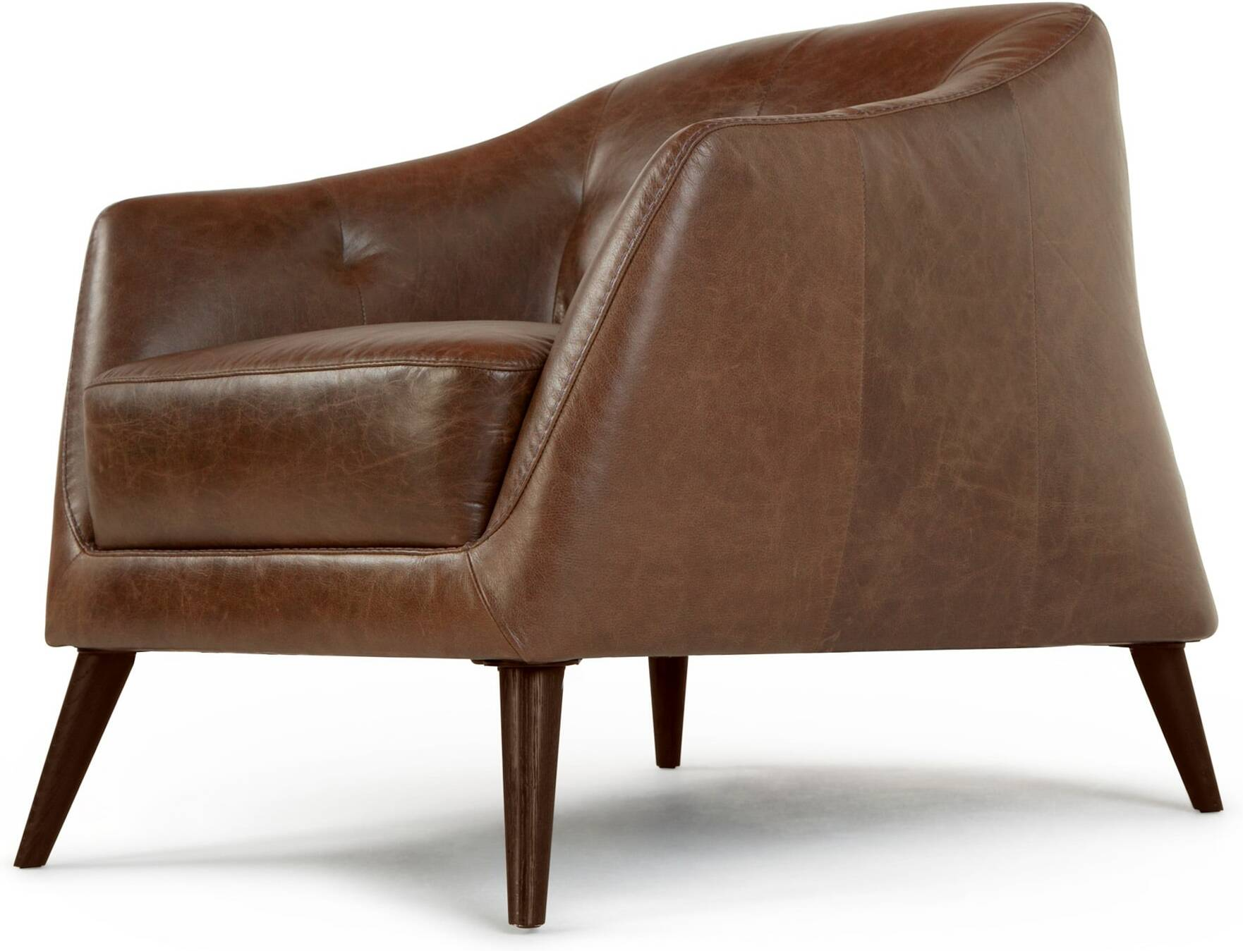 Nevada Armchair Antique Cognac Leather