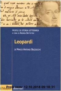 Gebr. - Leopardi. Profili di storia letteraria