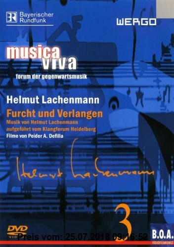 Gebr. - Musica Viva 3 - Helmut Lachenmann: Furcht und Verlangen
