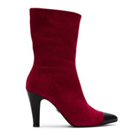 Andrea Bogosian suede boots - Rouge