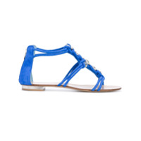 Le Silla sandales à détails d'ornements - Bleu