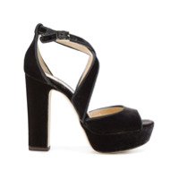 Jimmy Choo sandales April 120 - Marron
