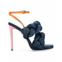 Marco De Vincenzo braided strappy Treccia sandals - Bleu