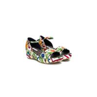 Dolce & Gabbana Kids sandales imprimées Sicilian - Multicolore