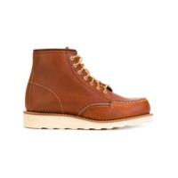 Red Wing Shoes bottines à semelle crantée - Marron