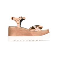 Stella McCartney sandales Elyse - Métallisé