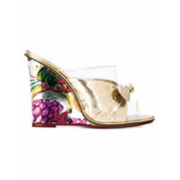 Charlotte Olympia mules Theresa - Nude & Couleurs Neutres