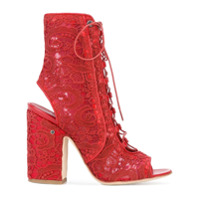 Laurence Dacade bottines Nelly - Rouge