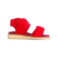 Bernhard Willhelm sandales Play - Rouge