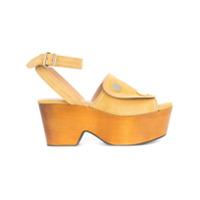 Derek Lam sandales Zaria - Marron