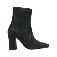 Dorateymur pointed ankle boots - Noir