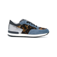 Pollini lace-up sneakers - Bleu