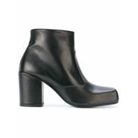 Aalto bottines à talon haut épais - Noir