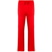 Isabel Marant Étoile side stripe joggers - Rouge