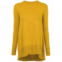 Nk knit blouse - Yellow & Orange