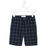 Manuel Ritz Kids checked shorts - Blue