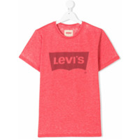Levi's Kids TEEN logo print T-shirt - Red
