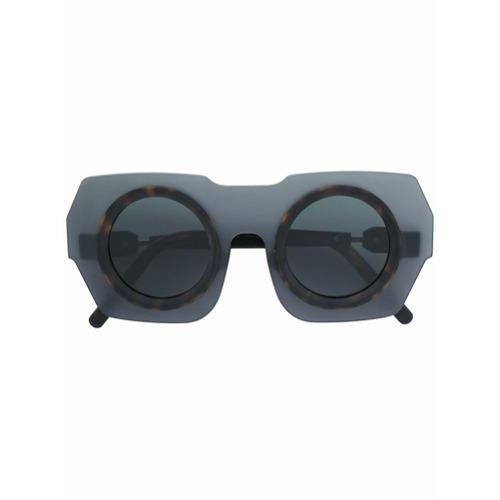 Billede af Kuboraum contrast frame sunglasses - Grey