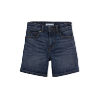 Burberry Kids Relaxed Fit Stretch Denim Shorts - Blue