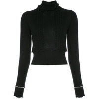 3.1 Phillip Lim ruffled turtleneck - Black