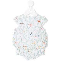 Tartine Et Chocolat floral print blouse and shorties - White