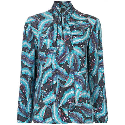 Bild på Romance Was Born Atomic Nature blouse - Blue