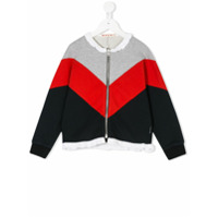 Marni Kids contrast panel jacket - Multicolour