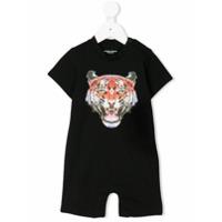 Marcelo Burlon County Of Milan Kids tiger print T-shirt - Black