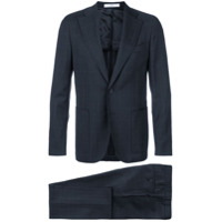 Corneliani check two piece suit - Blue