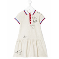 Burberry Kids illustrated polo dress - Nude & Neutrals